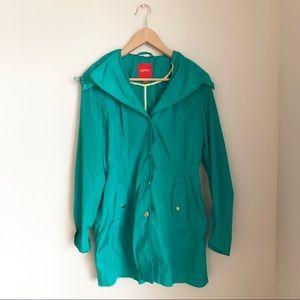 Vintage Turquoise Raincoat | Esprit